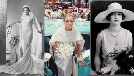 20 свадебных платьев из прошлого, которые вы бы захотели надеть и сегодня