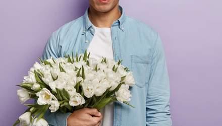 Букет мужу или начальнику: можно ли дарить цветы мужчинам