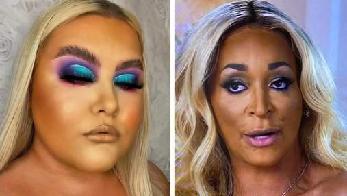 15 примеров очень неудачного макияжа, который вас развеселит: фото