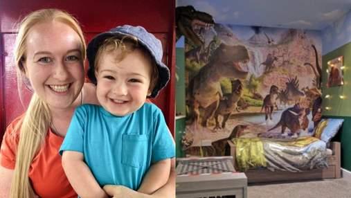 """Детская в стиле """"Парка Юрского периода"""": мать удивила 2-летнего сына"""