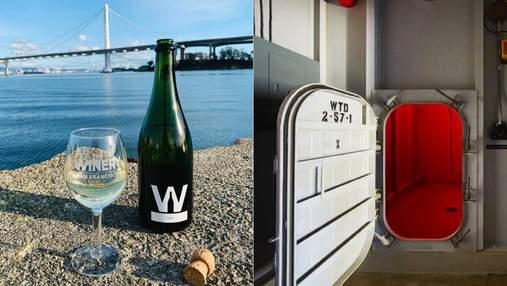 Не просто виноробня: у Каліфорнії можна скуштувати вино на субмарині часів Другої світової