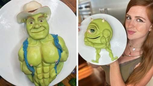 Кондитер превращает героев из мультиков в горячих мачо: крутые тортики
