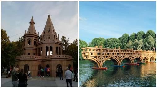 Художник робить неймовірні картонні споруди, щоб через добу зруйнувати їх