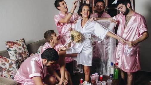 Вот так неожиданность: 15 + забавных свадебных фото со всего мира