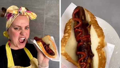 Кондитерка вразила усіх цікавим десертом: він схожий на хот-дог