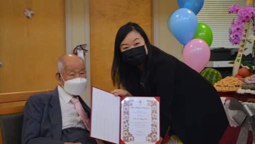 Святкує 111 років: найстаріший чоловік Канади розповів секрети свого довголіття
